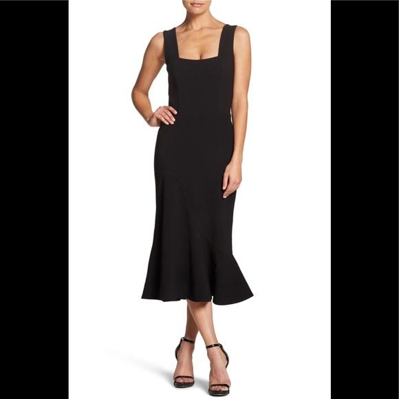 750a77b7e376 Dress the Population Dresses | Monica Tea Length Trumpet | Poshmark